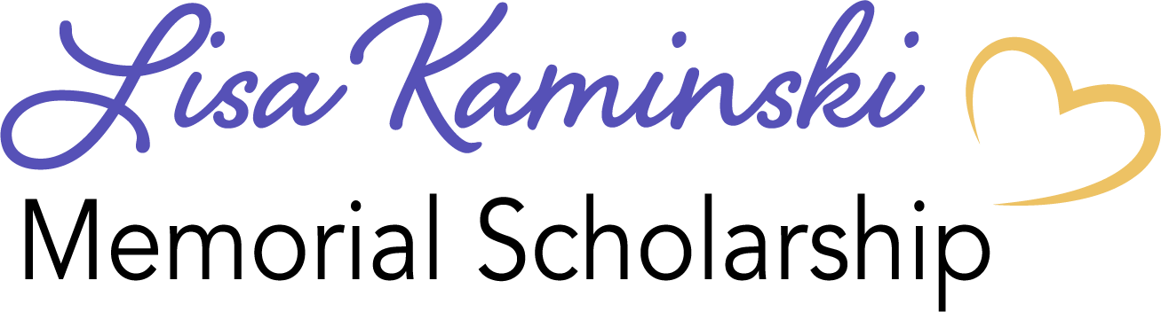 Lisa Kaminski Memorial Scholarship Logo